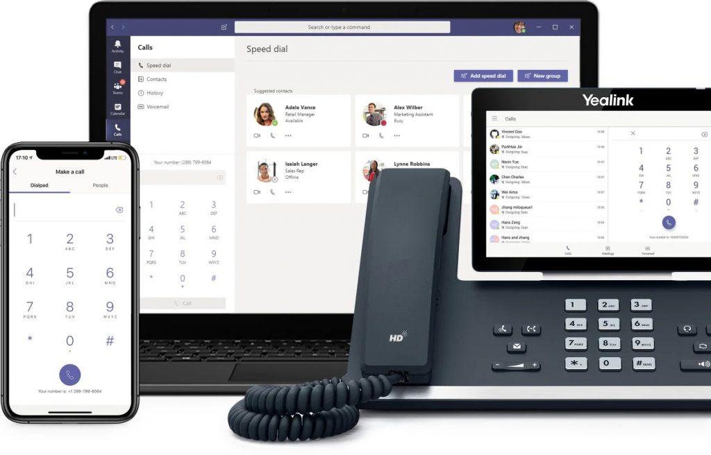 Microsoft Teams Voice screenshot